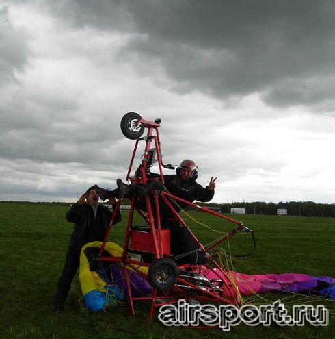 Аэрошют вертикального взлёта