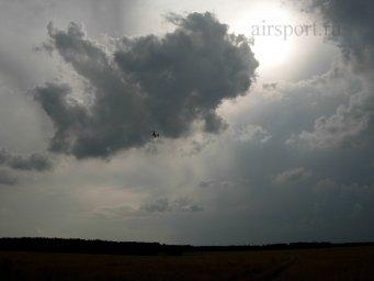 Аэрошют МОЛНИЯ с эллиптическим крылом