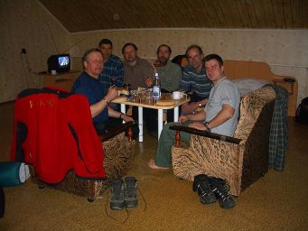 Новая экспедиция с аэрошютами Эльбрус 2005
