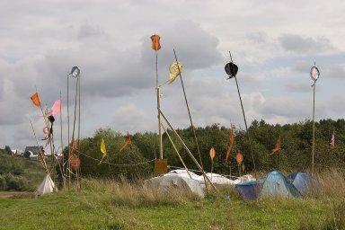 Полёты на паралётах на фестивале ЭТНОЛЭНД 2006