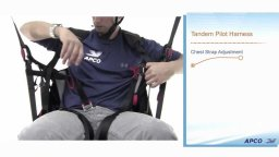 Парапланерные подвески для тандема ПИЛОТ и ПАССАЖИР :: видео инструкция